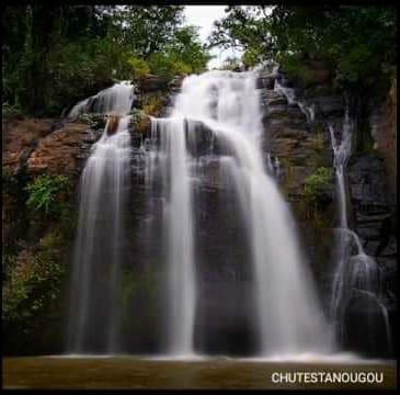 Im Nordbenin gibt es viele zu besichtigende Orte. #Der Wasserfall von #Tanougou ist ein Beispiel unter anderem. Das Bild...